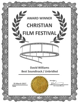 Unbridled Best Soundtrack Award CFF Mar 17 David Williams